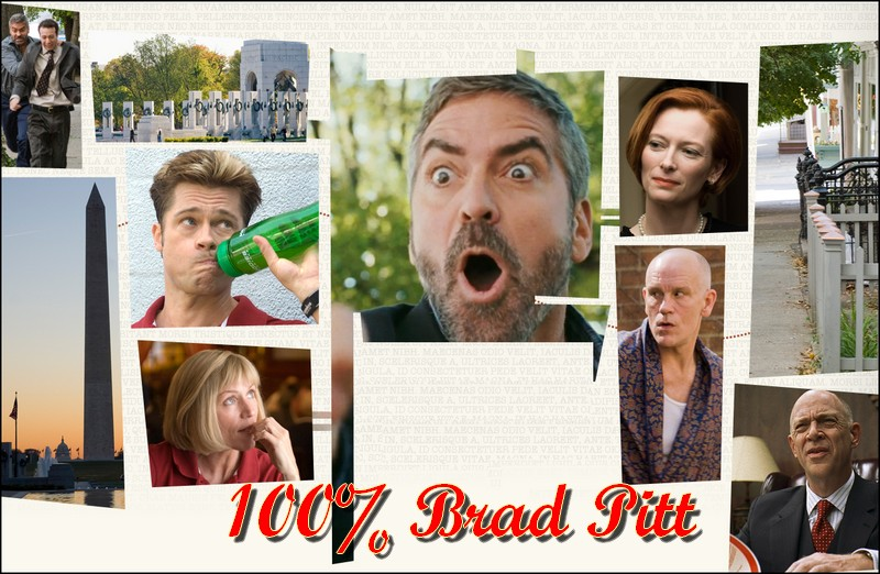 100% Brad PITT