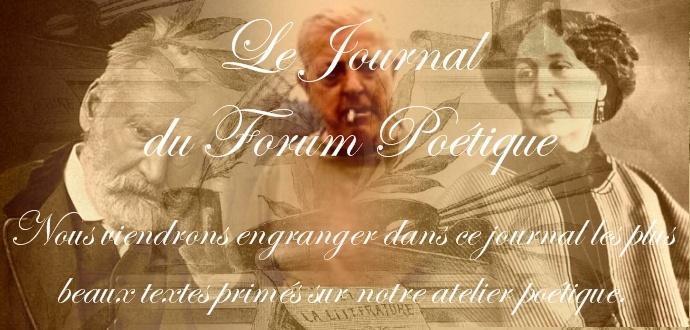 Le Journal Du Forum Poétique