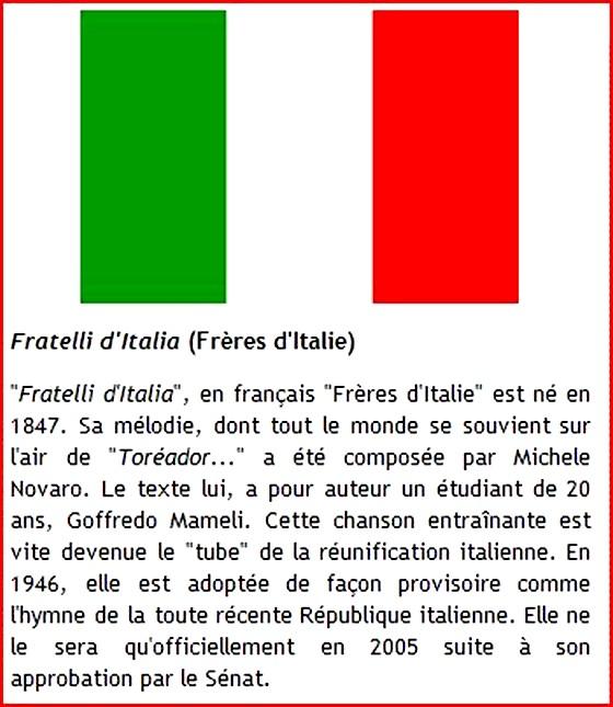 hymne national italie