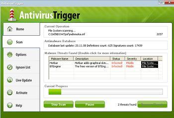 antivirustrigger