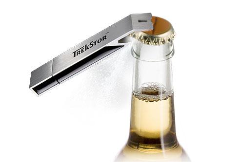 clé usb pour bouteille