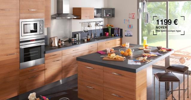 Quelle peinture pour ma cuisine ouverte sur salon s jour - Photo de cuisine ouverte sur sejour ...