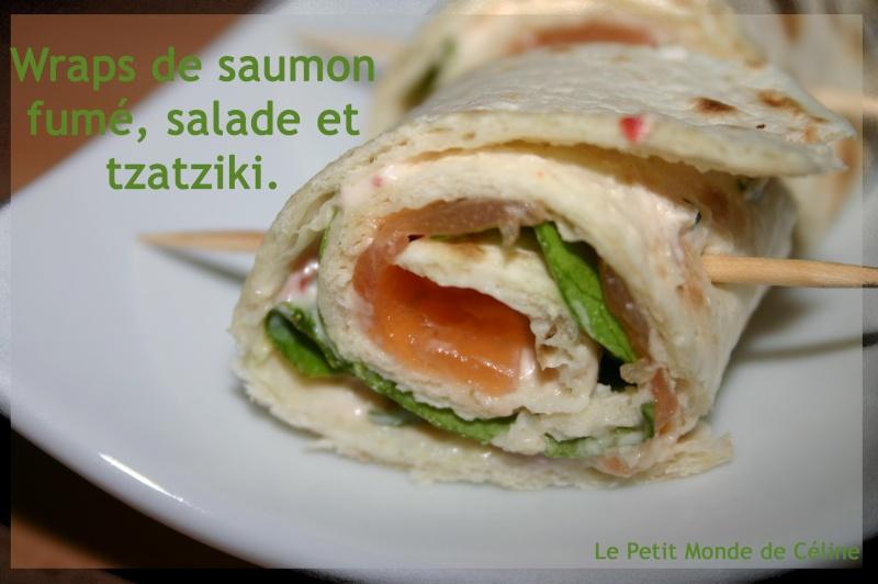 recette wrap saumon tzatziki un site culinaire populaire avec des recettes utiles. Black Bedroom Furniture Sets. Home Design Ideas