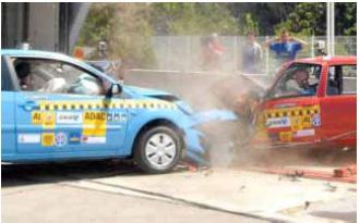 Idée crash test pour comparer les voitures - Actualité auto - FORUM Sport Auto