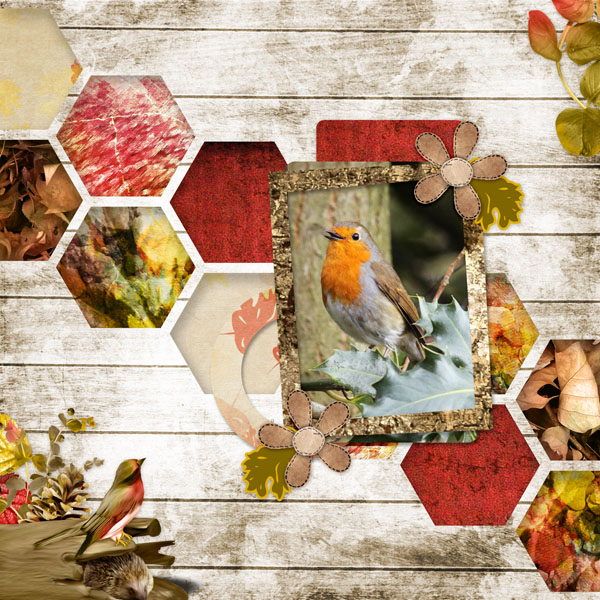 falling in autumn kit simplette page leugoscrap