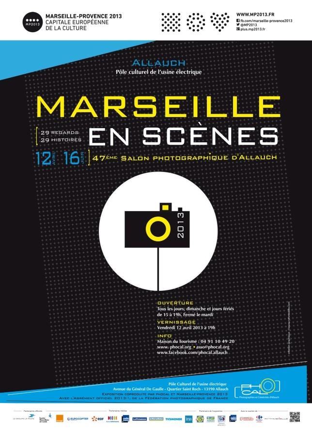 Marseille en scènes, 29 regards, 29 histoires (Allauch)