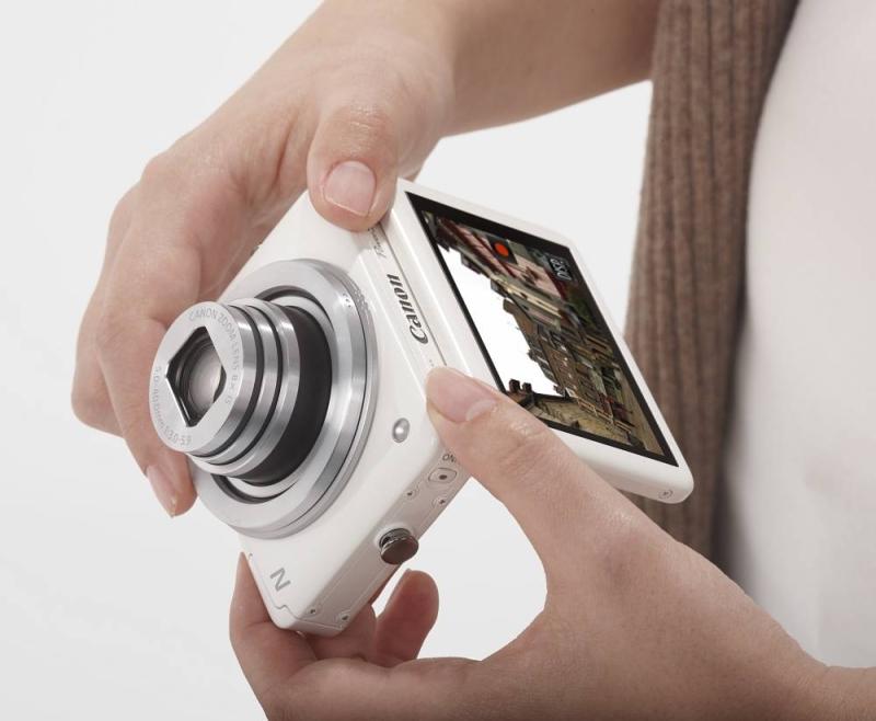 Canon PowerShot N, un compact au format carré