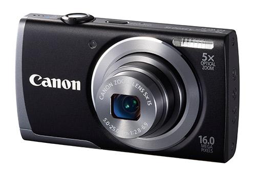 Canon renouvelle sa gamme de compact PowerShot A avec les A1400, A2600 et A3500 IS ainsi que le IXUS 140