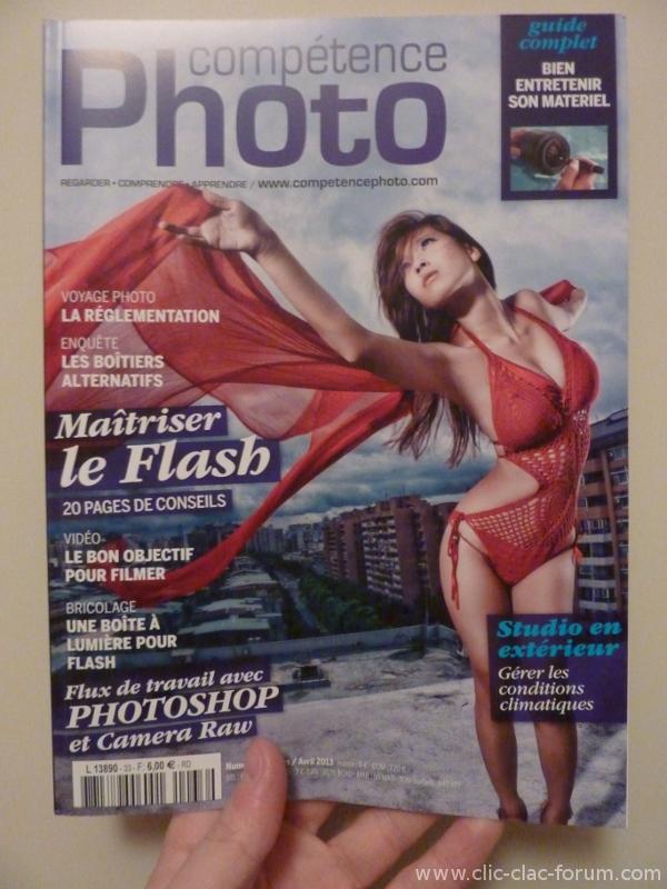 Compétence Photo n°33 Maîtriser le flash - Flux de travail avec Photoshop - Bien entretenir son matériel