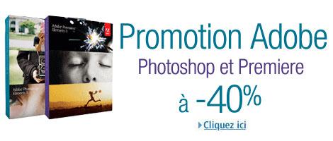 Promotion Adobe Photoshop Elements 11 sur Amazon