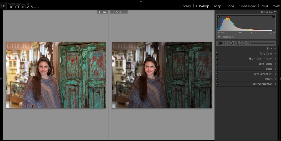Adobe Photoshop Lightroom 5 disponible en version bêta