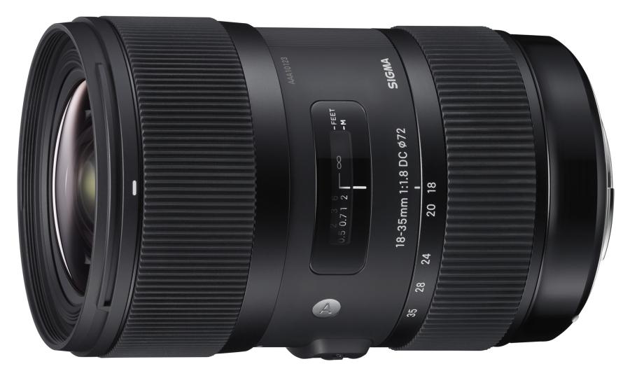 Sigma 18-35mm F/1.8 DC HSM, premier objectif à ouverture constante 1.8