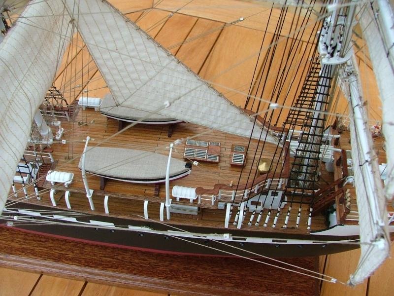 vente plan de montage du belem en maquette bois