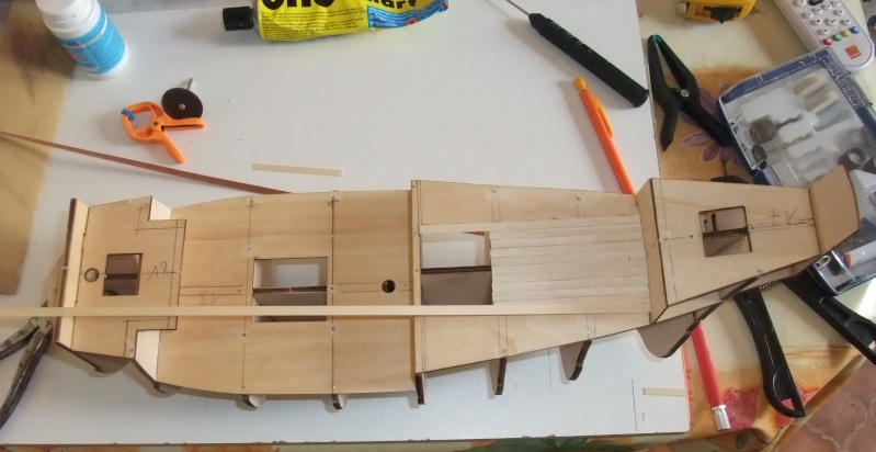 maquette bateau en bois san francisco ii. Black Bedroom Furniture Sets. Home Design Ideas