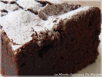 Cake Extra Moelleux Au Deux Chocolat
