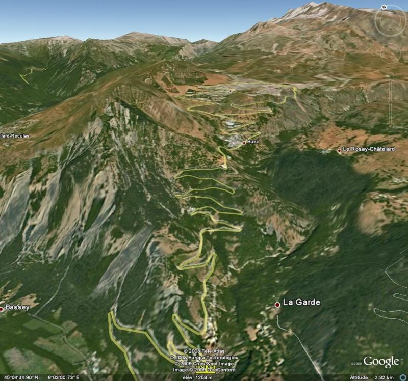 Les cols mythiques du tour de france col de l 39 alpe d 39 huez - Office du tourisme de l alpes d huez ...