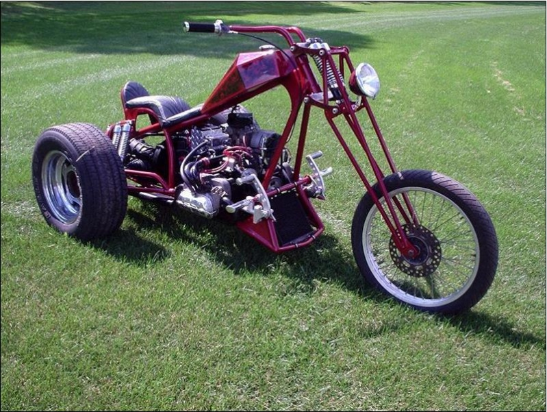 how to build a trike kit for motorcycle