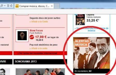 La Fnac espagnole annonce le nouvel album de U2 pour novembre (suite)