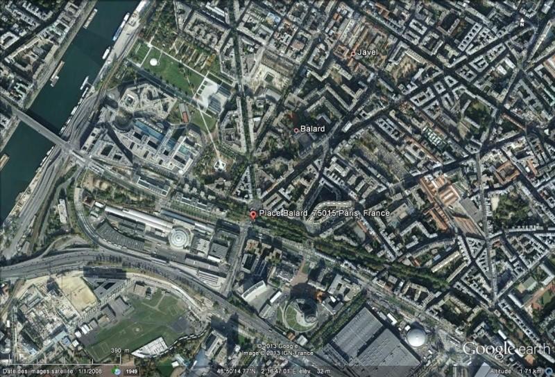 Bient t visible sur google earth futur site du for Ministere de defense