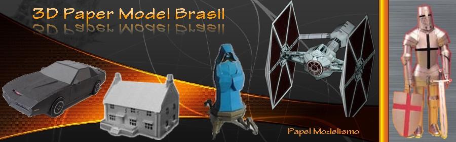 3D Paper Model Brasil