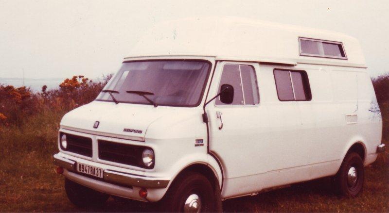notre 1er amour de camping cariste bedford 1976 1988 escapades nature en camping car. Black Bedroom Furniture Sets. Home Design Ideas