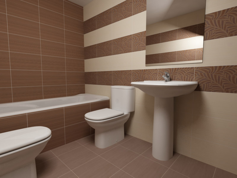 Couleur de carrelage salle de bain latest charming for Couleur carrelage