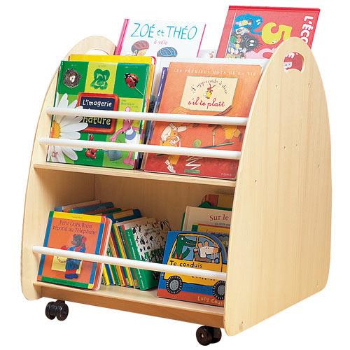 Petite biblioth que le meuble for Mini roulette pour meuble