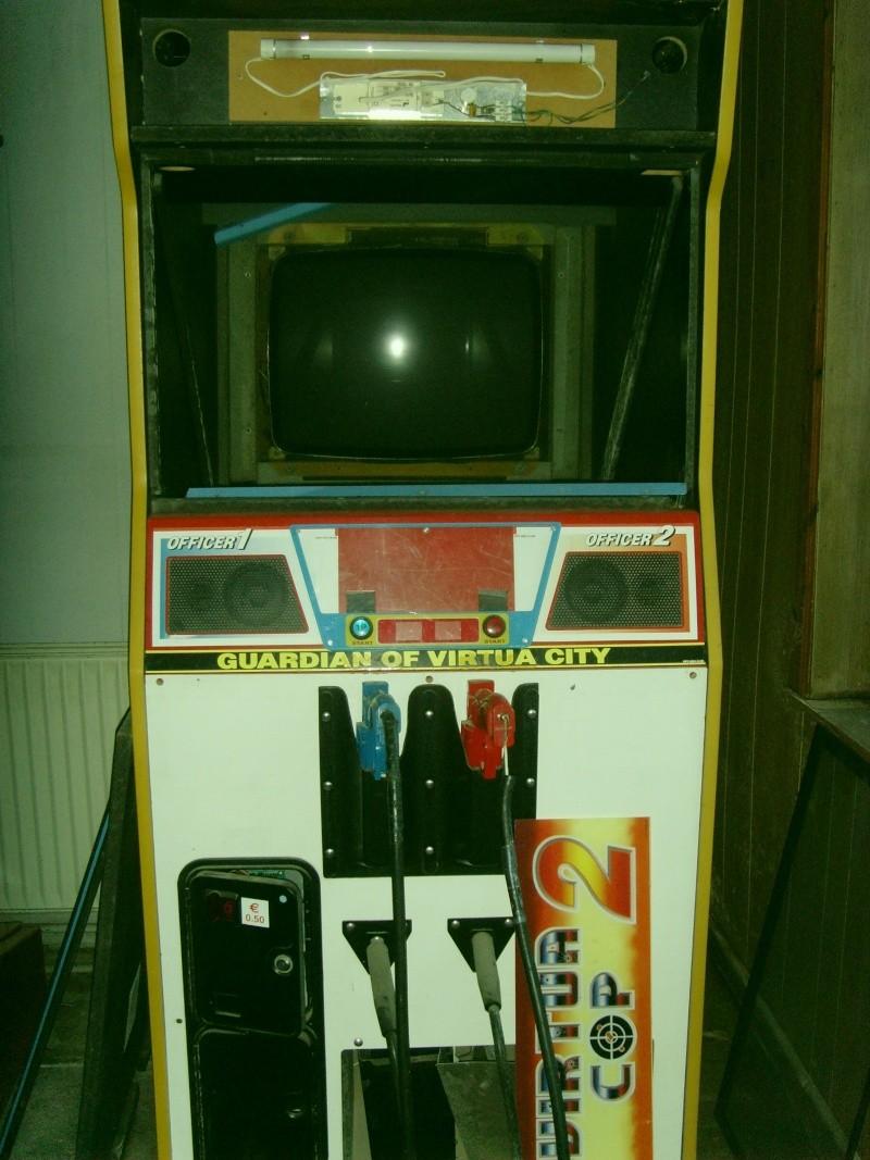 borne arcade virtua cop