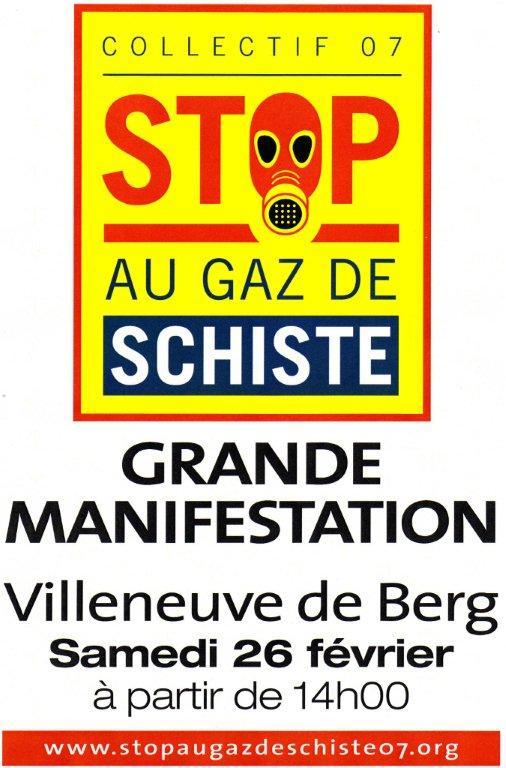 Manifestation villeneuve de berg le 26 fevrier for Caillou va a la piscine en francais