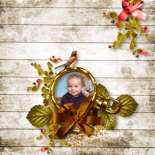 falling in autumn kit simplette page toupie