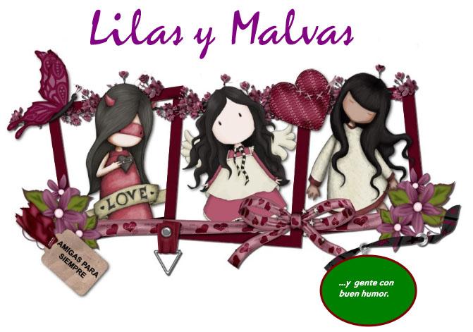 ' LILAS y MALVAS '