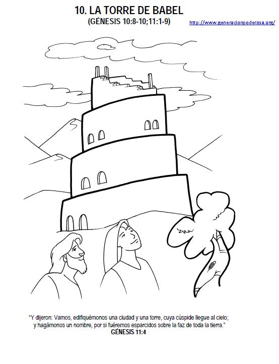 Torre de babel infantil - Imagui