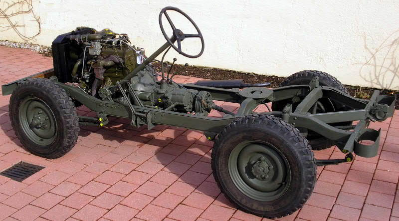 Populaire chassis jeep CX68