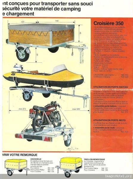 remorque erka vacances 1968. Black Bedroom Furniture Sets. Home Design Ideas