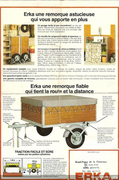 erka remorque pliante. Black Bedroom Furniture Sets. Home Design Ideas