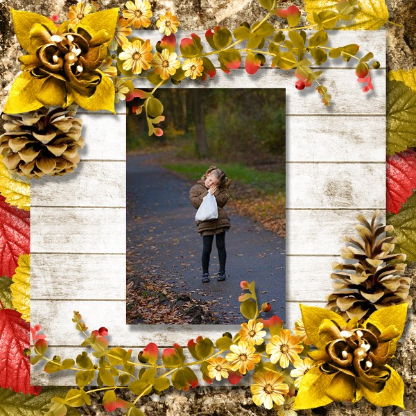 falling in autumn kit simplette page scrapbxl stephanie fort