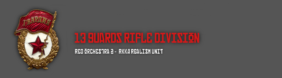13th guards rifle division