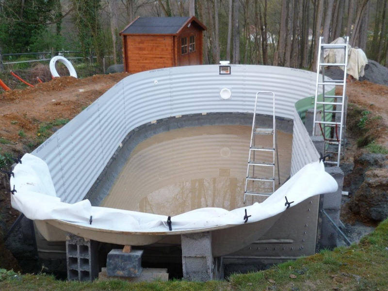 Lancement construction piscine emma 2 - Tarif piscine waterair ...