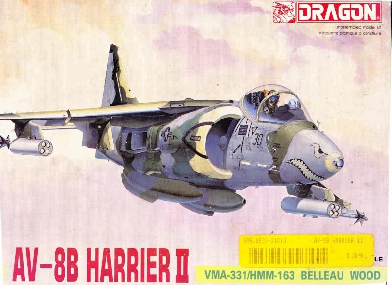Hasegawa AV-8B Desert Harrier