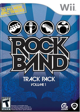 [Wii] Rock Band Track Pack: Vol. 1