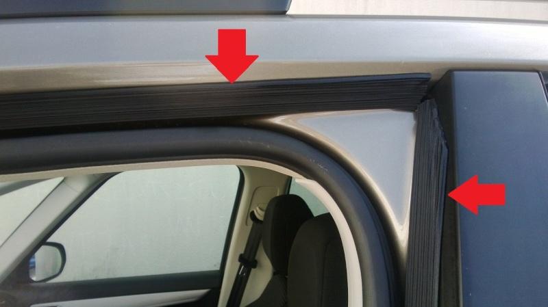 Probleme bruit d 39 air cot porte avg for Remplacement porte interieur