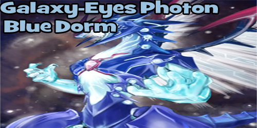 Galaxy-Eyes Photon Blue Dorm